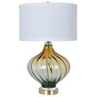 Crestview Collection CVAZBS042 Amelia 30 inch 150 watt Pb and Other Table Lamp Portable Light