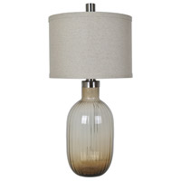 Crestview Collection CVAZBS043 Oliver 35 inch 150 watt Dark Bown and Other Table Lamp Portable Light