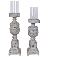 Clara Candleholders, Set of 2