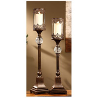 Crestview Collection CVCHI563 Ashland 34 inch Candleholders, Set of 2 photo thumbnail