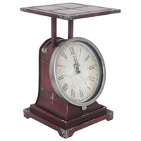 Crestview Collection CVCKA599 Scale 14 X 8 inch Table Clock