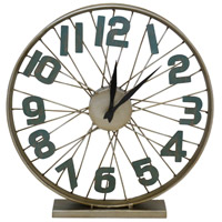 Crestview Collection CVCKA628 Spoken Time 20 X 3 inch Table Clock