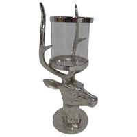 Stag 20 X 9 inch Candleholder
