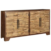 Crestview Collection CVFNR337 Bengal Manor 72 X 16 inch Wood Tones Sideboard