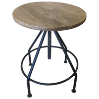 Crestview Collection CVFNR491 Bengal Manor 20 inch Wood Tones Barstool