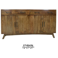 Crestview Collection CVFNR656 Bengal Manor 72 X 17 inch Sideboard