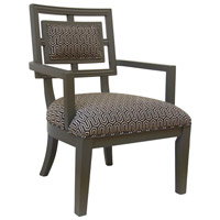Crestview Collection CVFZR1662 Sydney Grey Accent Chair photo thumbnail