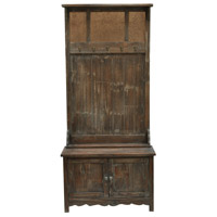Crestview Collection CVFZR773 Rustic Hall Tree