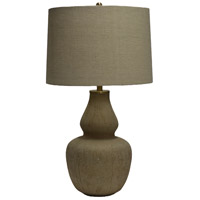 Crestview Collection CVIDZA006 Glass Table Lamp Portable Light