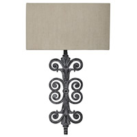 Crestview Collection CVW1P394 Lazzaro 1 Light 7 inch Antique Iron Wall Lamp Wall Light
