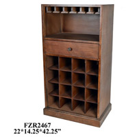 Element Wood Tones Wine Cabinet