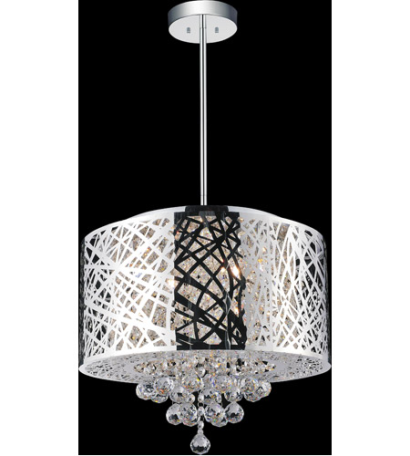 CWI Lighting Chrome Eternity Chandeliers