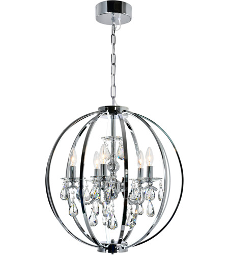 Glass Bird Cage Chandeliers