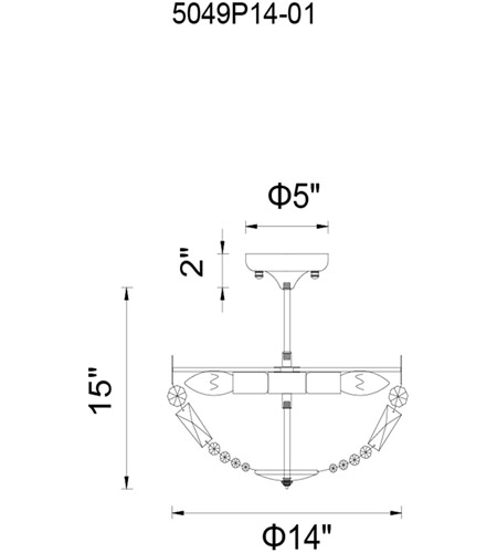 CWI Lighting 5049P14AB Cornelius 3 Light 14 inch Antique Brass Pendant Ceiling Light photo thumbnail