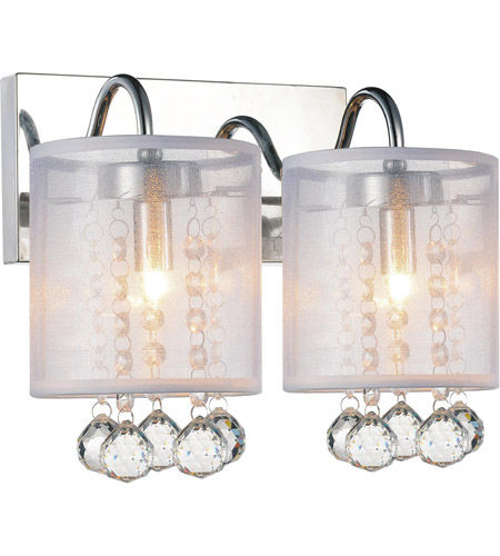 Chrome Radiant Wall Sconces