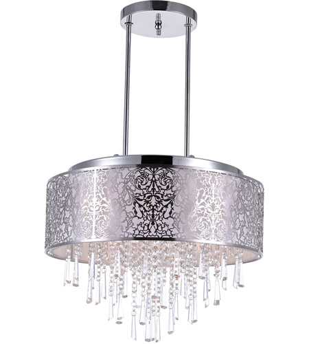 CWI Lighting Stainless Steel Tresemme Chandeliers