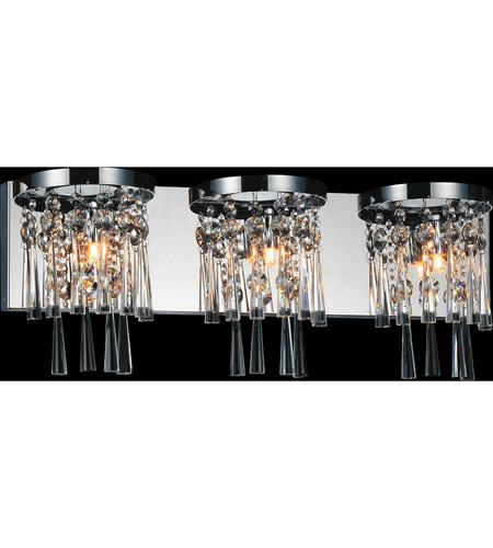 CWI Lighting Chrome Blissful Wall Sconces