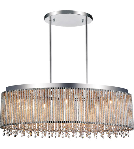 Cwi Lighting 5535p30c O Claire 5 Light 30 Inch Chrome Chandelier Ceiling