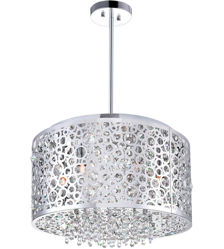 CWI Lighting Chrome Bubbles Chandeliers