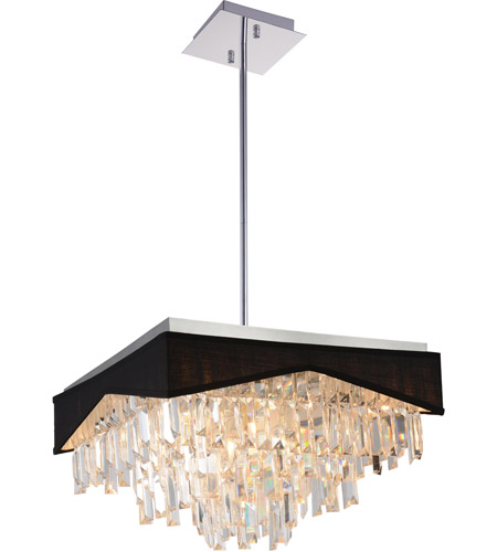 CWI Lighting Fabric Havely Chandeliers