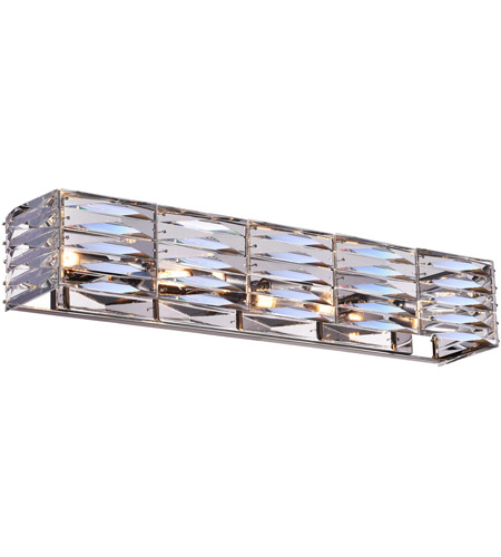 Bright Nickel Metal Wall Sconces