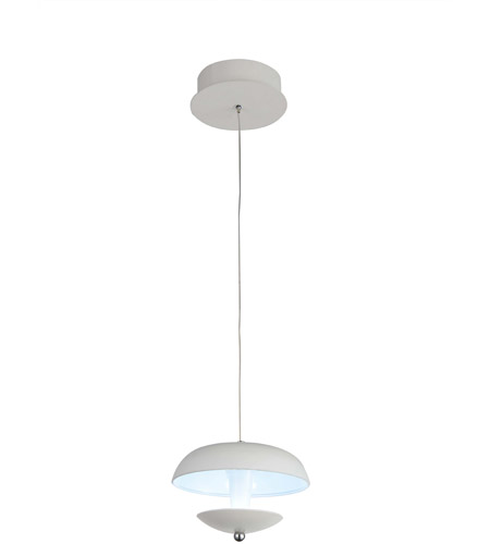 CWI Lighting White Metal Pendants