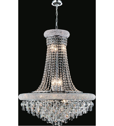CWI Lighting Chrome Crystals Kingdom Chandeliers