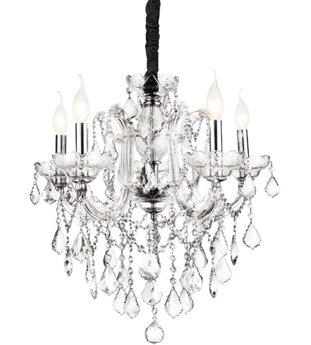 Stainless Steel Riley Chandeliers