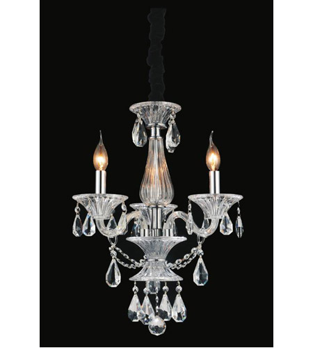 CWI Lighting Chrome Crystals Lexis Chandeliers