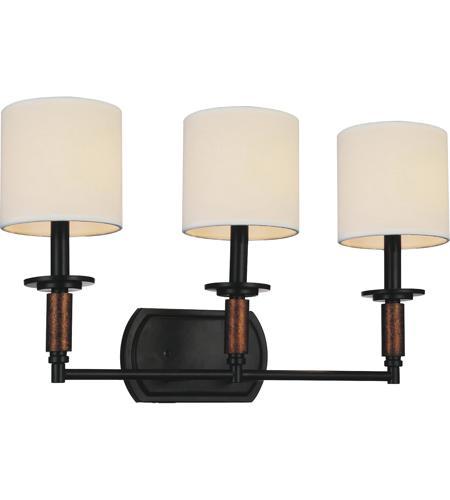 Cwi Lighting 9808w24 3 101 Sia Light 24 Inch Black Wall Sconce