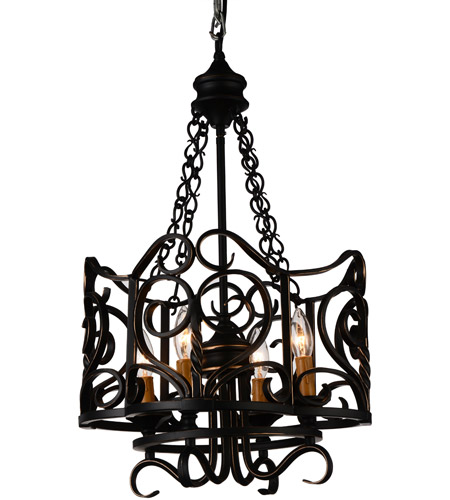 CWI Lighting Autumn Bronze Metal Chandeliers