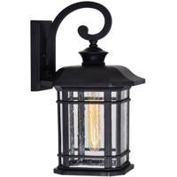 CWI Lighting 0411W10-1-101 Blackburn 1 Light 17 inch Black Outdoor Wall Light