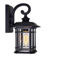 CWI Lighting 0411W8-1-101 Blackburn 1 Light 13 inch Black Outdoor Wall Light
