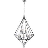 CWI Lighting 1027P32-12-601 Calista 12 Light 32 inch Chrome Up Chandelier Ceiling Light