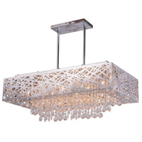 CWI Lighting Stainless Steel Eternity Chandeliers
