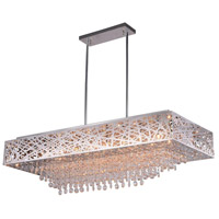 Eternity 14 Light 39 inch Chrome Island Chandelier Ceiling Light