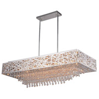Eternity 16 Light 46 inch Chrome Island Chandelier Ceiling Light