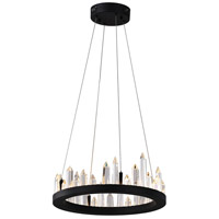 CWI Lighting Black Juliette Chandeliers