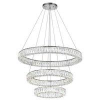 CWI Lighting Stainless Steel Madeline Chandeliers