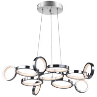 CWI Lighting 1054P28-601 Colette 28 inch Chrome Chandelier Ceiling Light