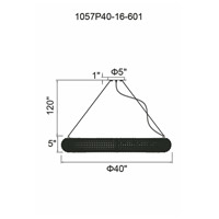 CWI Lighting 1057P40-16-601 Veronique 16 Light 40 inch Chrome Chandelier Ceiling Light