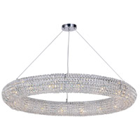 CWI Lighting 1057P40-16-601 Veronique 16 Light 40 inch Chrome Down Chandelier Ceiling Light
