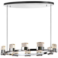 CWI Lighting 1061P47-10-601-O Emmanuella LED 47 inch Chrome Island Chandelier Ceiling Light