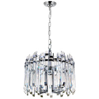 CWI Lighting Stainless Steel Henrietta Chandeliers