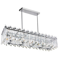 CWI Lighting 1065P47-10-601-RC Henrietta 10 Light 13 inch Chrome Chandelier Ceiling Light