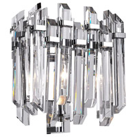 CWI Lighting 1065W8-1-601 Henrietta 1 Light 8 inch Chrome Wall Light