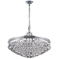 CWI Lighting 1070P30-13-601 Seraphina 13 Light 30 inch Chrome Down Chandelier Ceiling Light