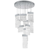 CWI Lighting Stainless Steel Carolina Chandeliers