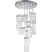 CWI Lighting 1090P20-10-269 Carolina LED 20 inch Pewter Chandelier Ceiling Light