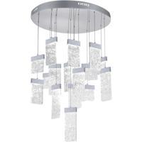 CWI Lighting 1090P32-16-269 Carolina LED 32 inch Pewter Chandelier Ceiling Light